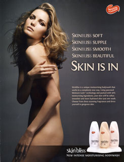 Skin Bliss Advert