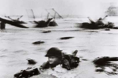 D-Day landing by Robert Capa