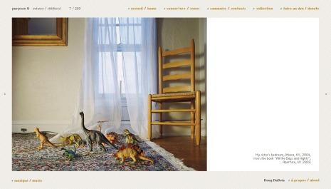 My sister's bedroom, Ithaca, NY, 2004 by Doug Dubois