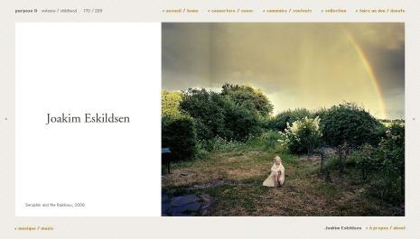 Seraphin and the Rainbow, 2008 by Joakim Eskildsen