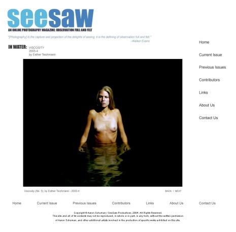Viscosity, 2003-4 by Esther Teichmann